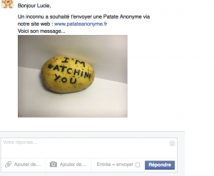 Patate anonyme facebook
