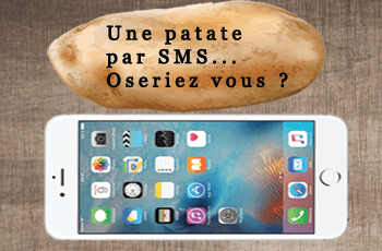 sms anonyme patate