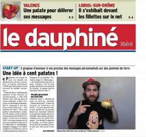 Patate Anonyme - Dauphine libéré
